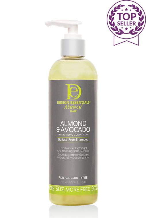 Almond & Avocado Sulfate-Free Detangling Shampoo