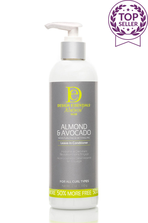 Almond & Avocado Detangling Leave-In Conditioner for all hair types