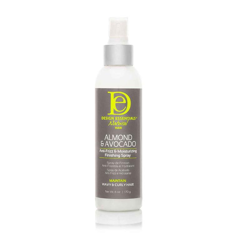 2A hair, 3C hair, Anti-Frizz & Moisturizing Finishing Spray, Regimen: Maintain