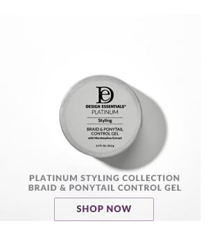 Platinum Styling Braid & Ponytail Control Gel