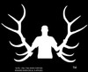 MATCH SET SILHOUETTE ELK DECAL!