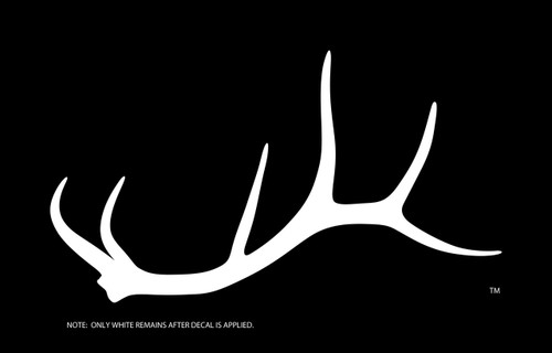 OUR SOLID SIX ELK DECAL!  THESE ARE AWESOME.