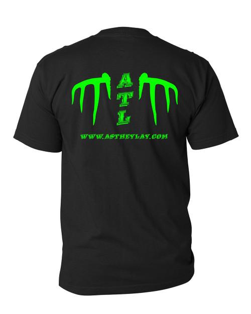 Our original Whitetail ATL Logo shirt back view!!  www.astheylay.com!!