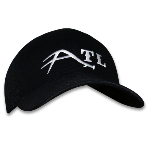 ATL MULE DEER Flexfit Ultra fiber and Mesh Cap (Black and White).  Gear for the serious shed hunter.