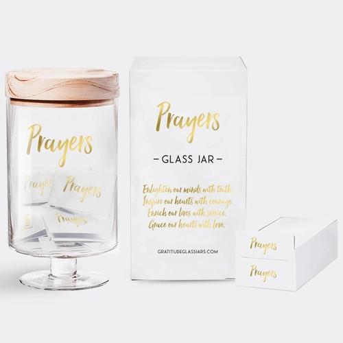 Prayer Glass Jar