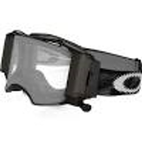 OAKLEY AIRBRAKE MX JET BLACK SPEED W/ROLL-OFF