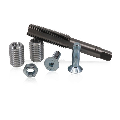 Threaded Bar Inserts with Tap