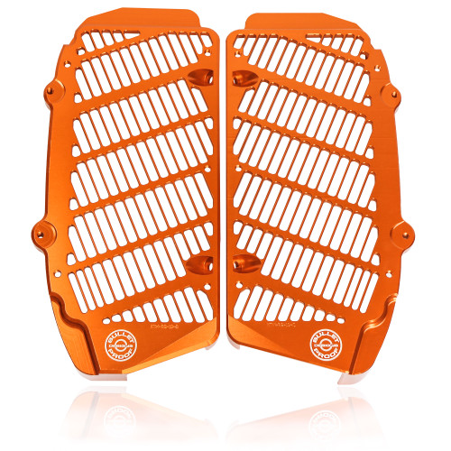 KTM RADIATOR GUARDS  2017-2021 125-500 ALL MODELS INCLUDING NEW TPI