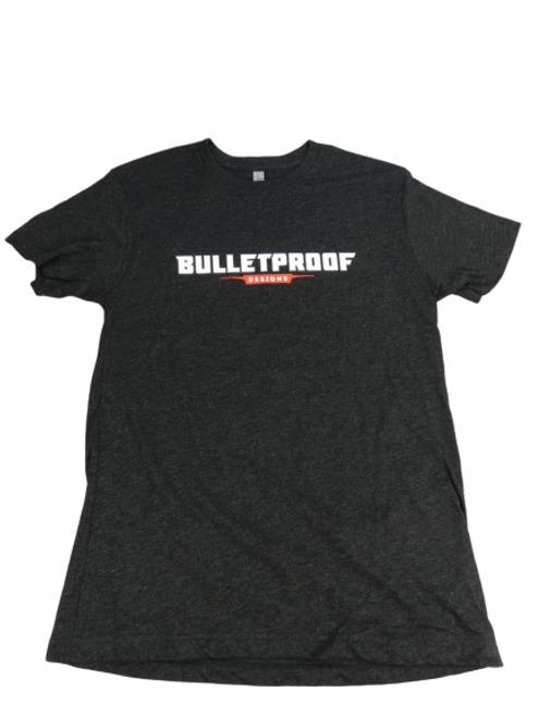 BULLET PROOF DESIGNS T-SHIRT-BLACK