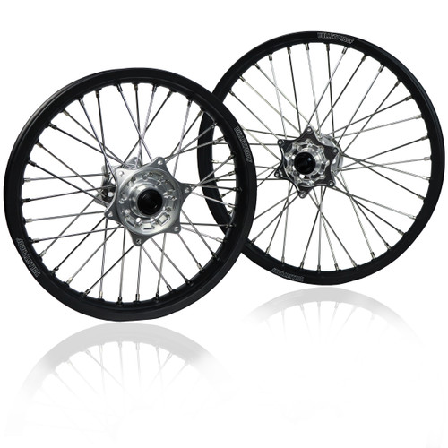 "BULLET PROOF DESIGNS KTM/HUSQVARNA/SHERCO WHEELSET 21""/18"""