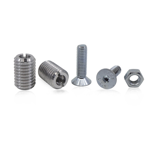 Threaded Bar Inserts without Tap