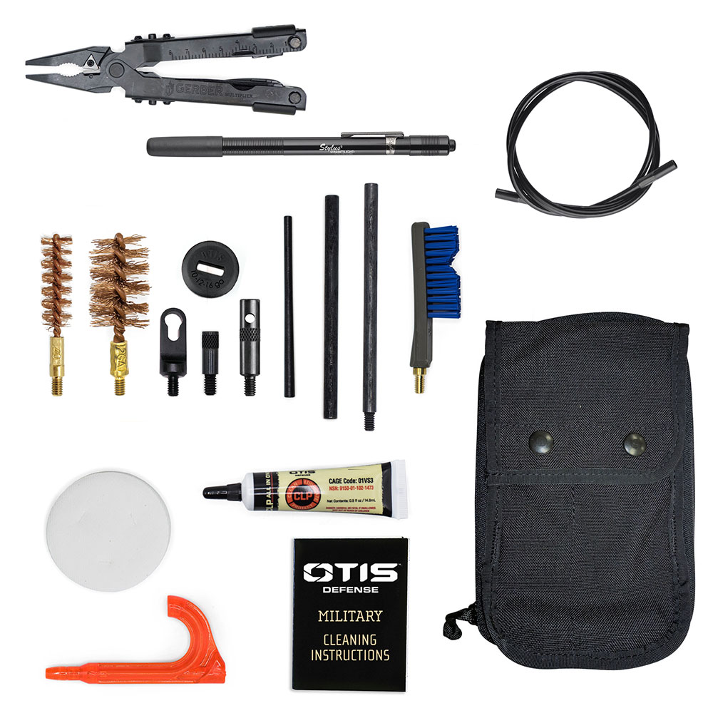 Combat Shotgun Military Cleaning Kit with Gerber MP600