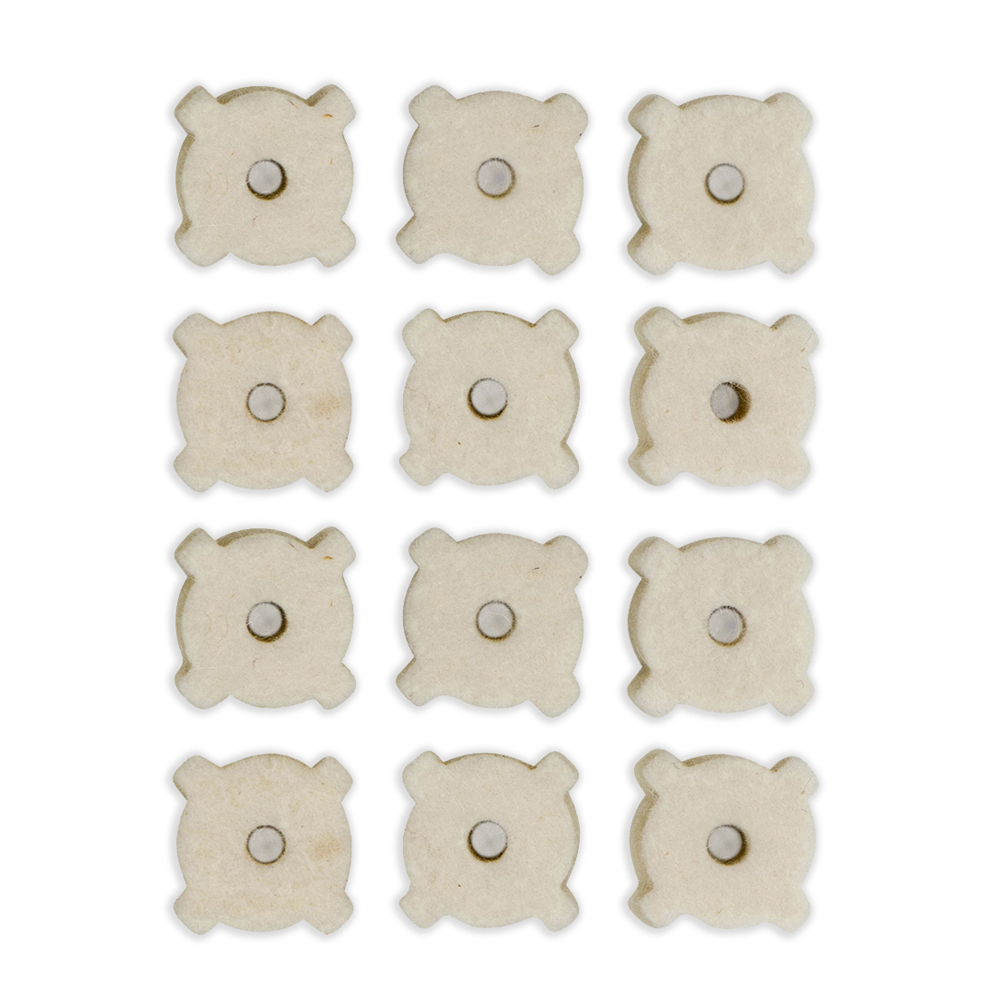 12 Pack Star Chamber Cleaning Pads (7.62MM/AR-10 platforms)