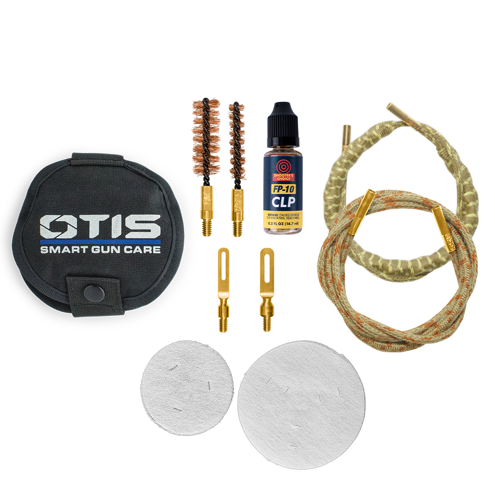 5.56mm/.45cal Thin Blue Line Cleaning Kit