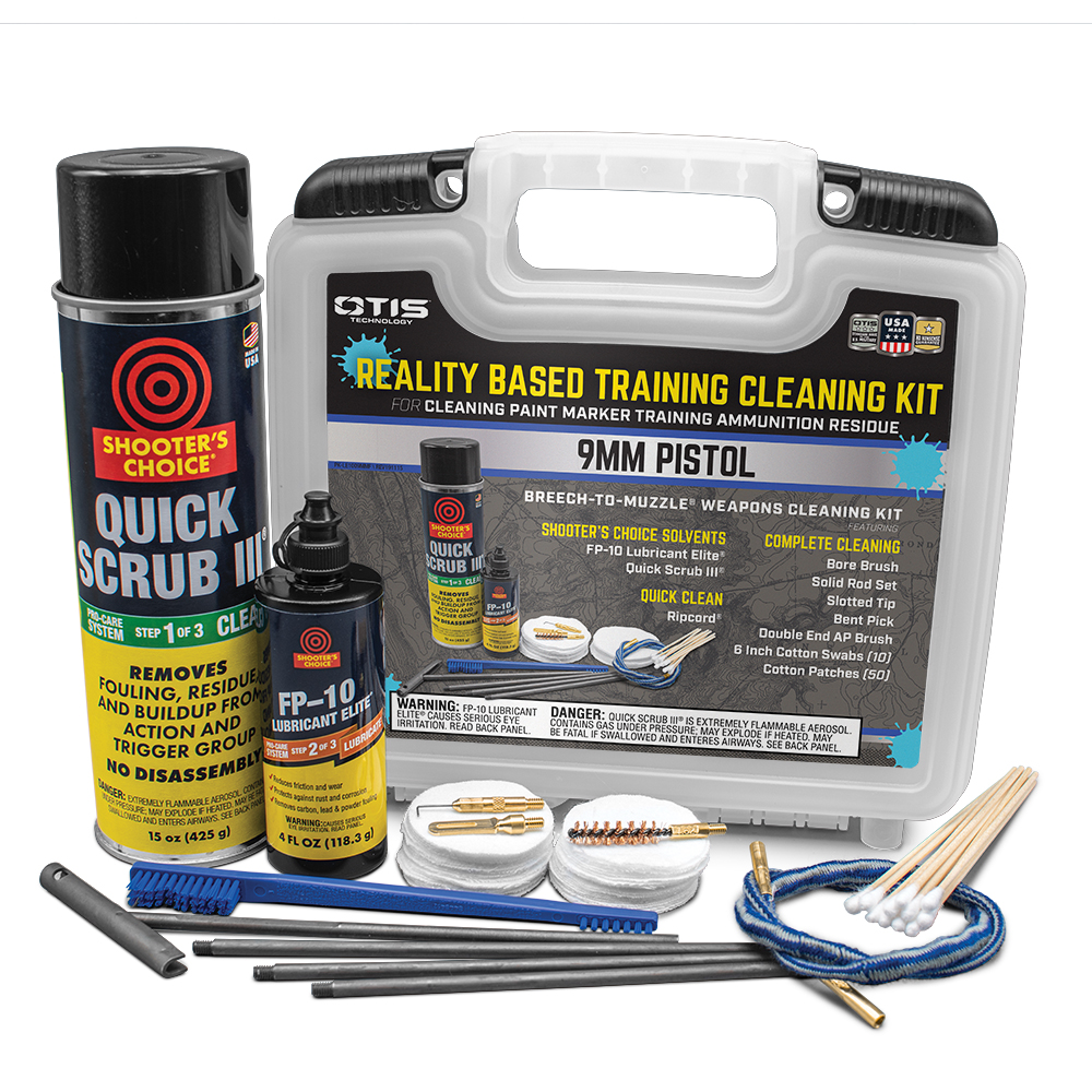 9mm REALITY BASED TRAINING CLEANING KIT