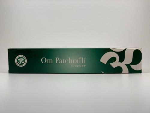 OM Incense Patchouli Sticks 15 Gram Box