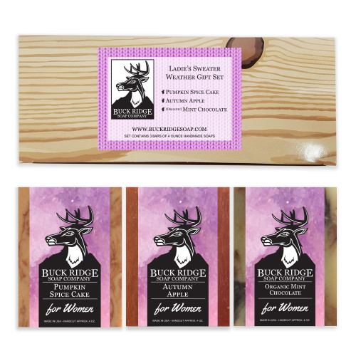 Ladies Sweater Weather Scents Gift Set