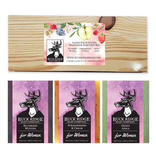 Ladie's Fruit Scented Soap Gift Set