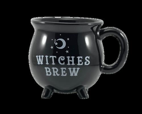 Witches Brew Black Cauldron Mug
