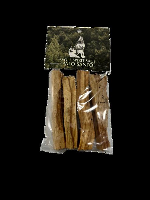 Palo Santo 4 Sticks by Wolf Spirit Sage