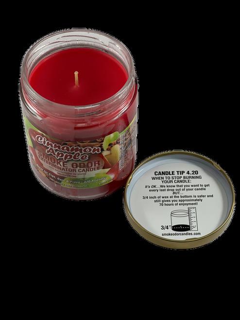 Apple Cinnamon Odor Eliminator Jar Candle 13 oz