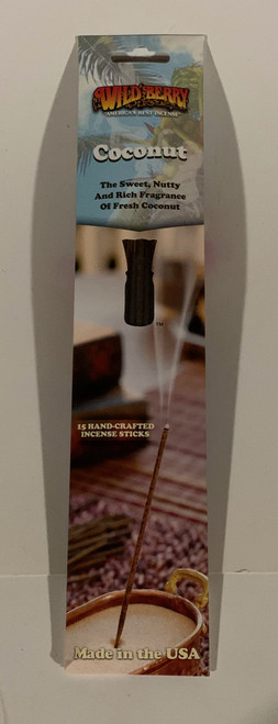 Coconut Incense Sticks by Wild Berry