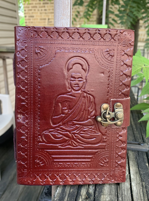 Buddha Handmade Leather Bound Journal