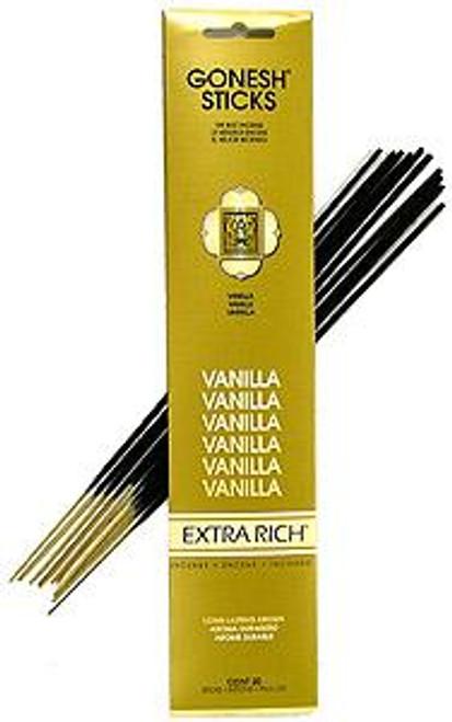 Vanilla  Gonesh Incense Sticks