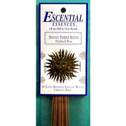 Escential Essences - Mayan Temple - Incense Sticks - 16 Pieces