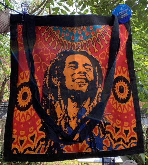 Bob Marley Tote Shoulder Bag Cotton