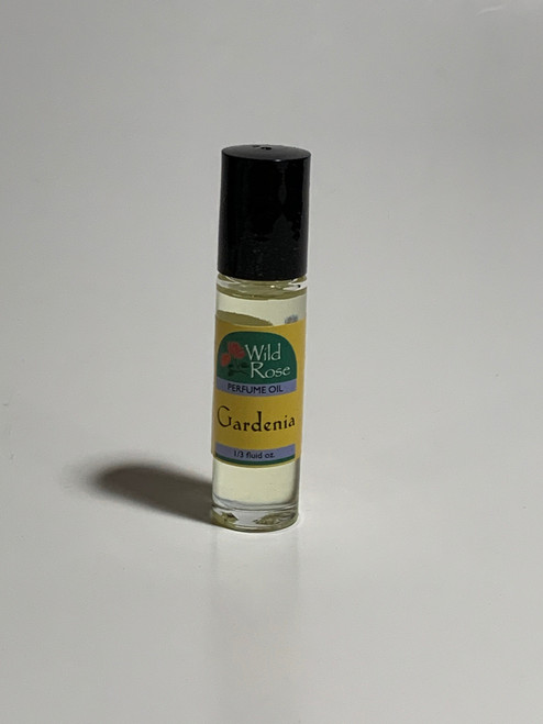 Gardenia Perfume Body Oil by Wild Rose