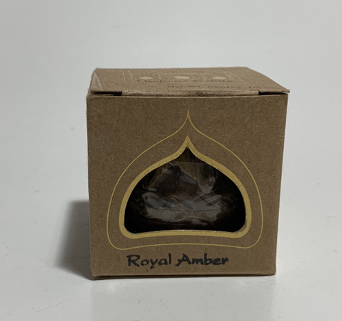 Royal Amber Auric Blends 1/5 oz Solid Perfume