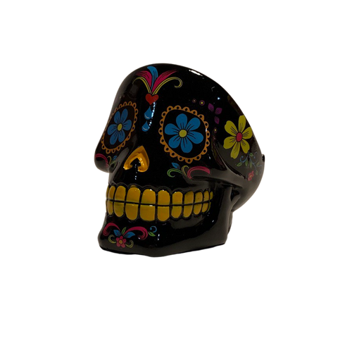 Day of the Day Sugar Skull 4 inch Ashtray