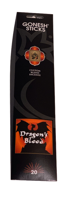 Gonesh Incense Dragon's Blood  Blend 20 Sticks