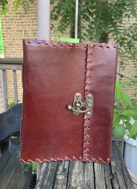 Plain Cover Handmade Leather Bound Journal