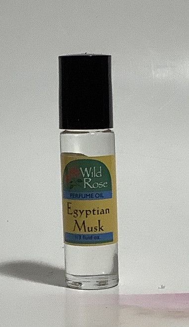 Egyptian Musk Perfume Body Oil by Wild Rose