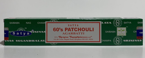 Satya 60's Patchouli Incense Sticks 15 Gram Box