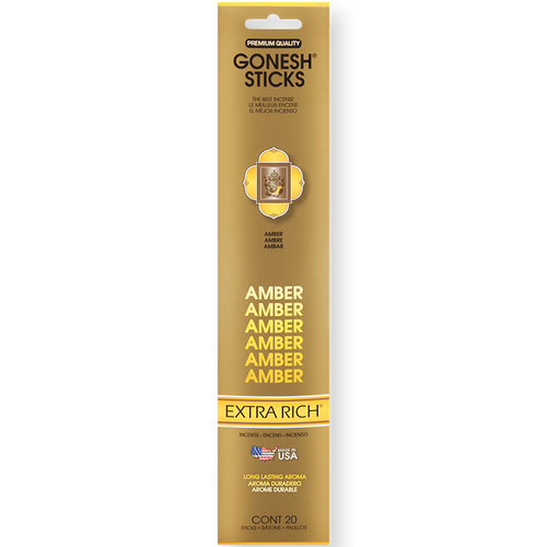 Amber Gonesh Incense Sticks