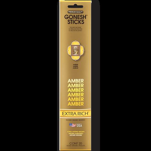 Amber Gonesh Incense Sticks