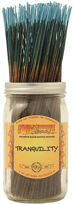 Wild Berry Tranquility Incense Sticks 100 Count