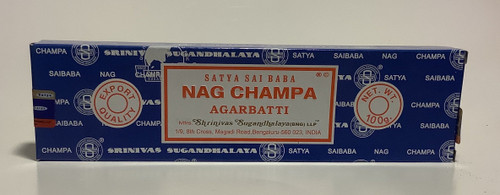 Blue Box Nag Champa 100 Gram Box