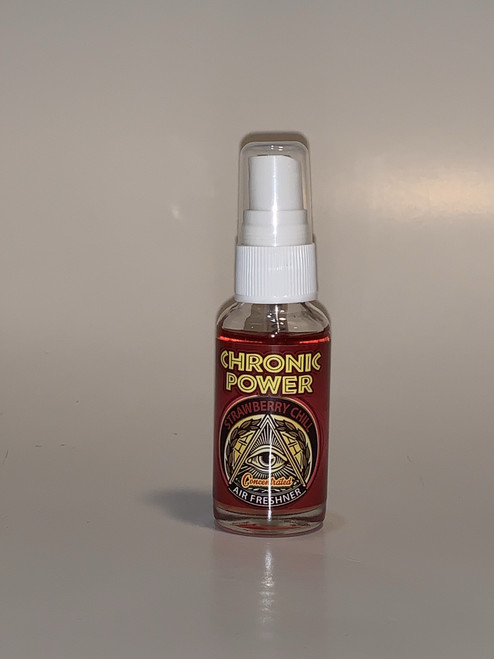 Chronic Power Strawberry Chill  Home and Car Spray Air Freshener