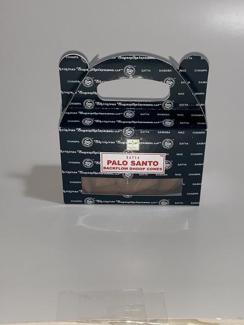 Palo Santo Satya Backflow Incense Cones