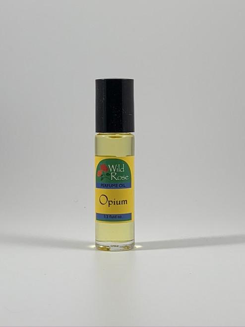 Wild Rose Opium Perfumed Body Oil 1/3 Oz