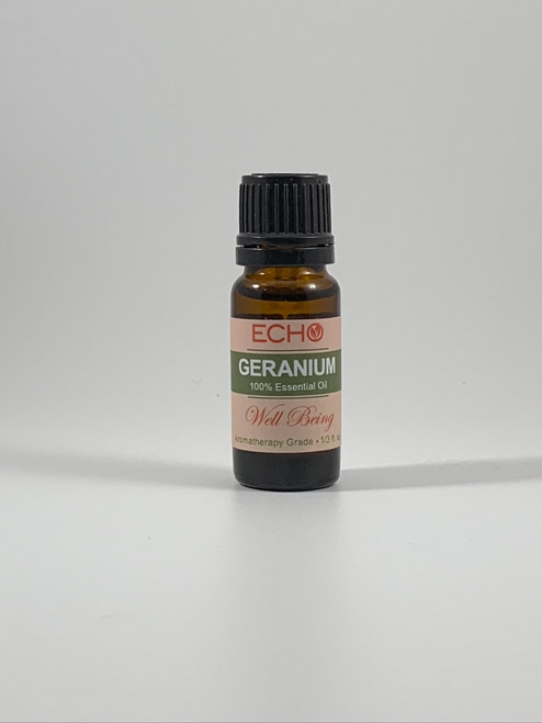 Echo - Geranium - Aromatherapy Essential Oil 1/3 Oz.
