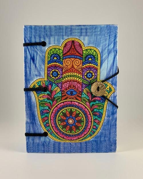 Hamsa Hand Handmade Journal