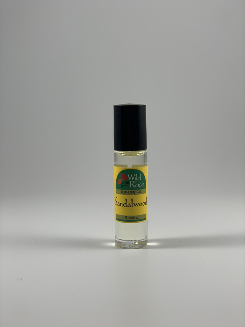 Sandalwood Perfume Oil by Wild Rose
