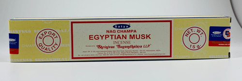 Satya Nag Champa Egyptian Musk Incense 15 Grams