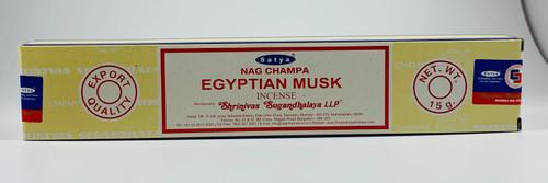 Satya Nag Champa Egyptian Musk Incense 15 Grams