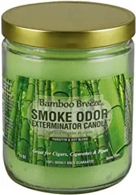 Bamboo Breeze Smoke Eliminator 13 Oz Jar Candle